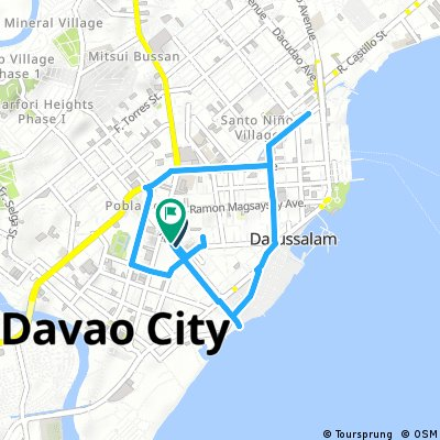 Davao Map on