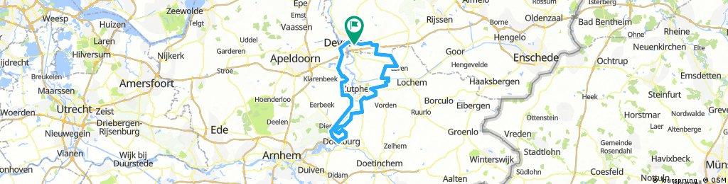 deventer - doesburg 100km