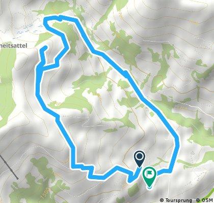 Rosegarte - Plani - Bergsimmne