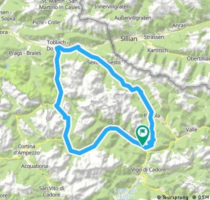 Auronzo-San Candido-Misurina