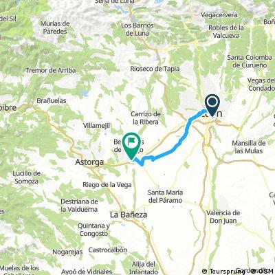 Camino Francés Day 4 León→Santa Catalina de Somoza