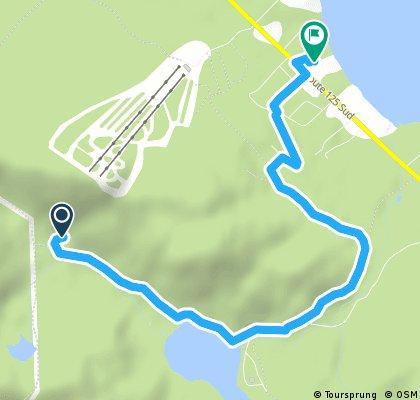 Quick ride through Saint-Donat