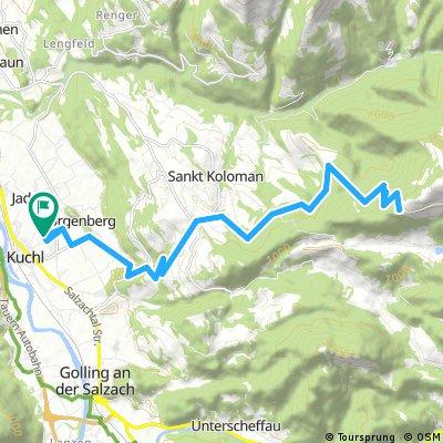 Radfahren Trattberg Sternfahrt 30km 1000hm