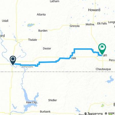 Tour of Kansas Stage 3: Arkansas City - Sedan