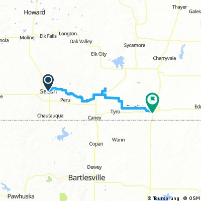 Tour of Kansas Stage 4: Sedan- Coffeyville