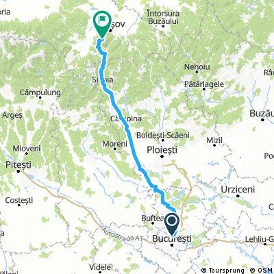 Bucuresti Ploiesti Valeni Cheia Brasov Bikemap Your Bike Routes