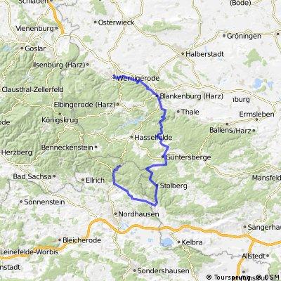 Harzquerung für Genießer CLONED FROM ROUTE 25240