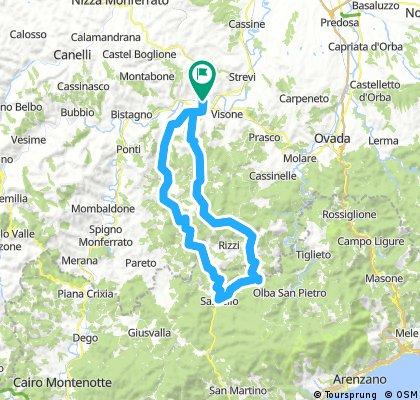 Acqui - Sasselo - Pontzone - Acqui