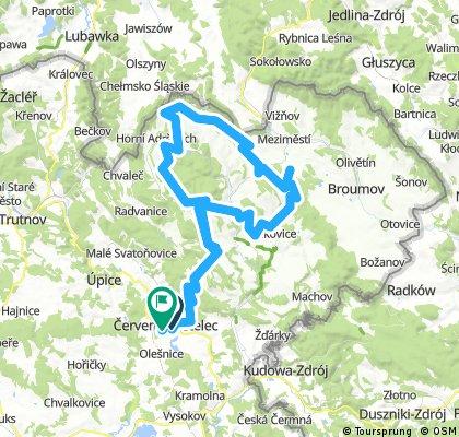 Bike 07.08.2016 Sudety 60km