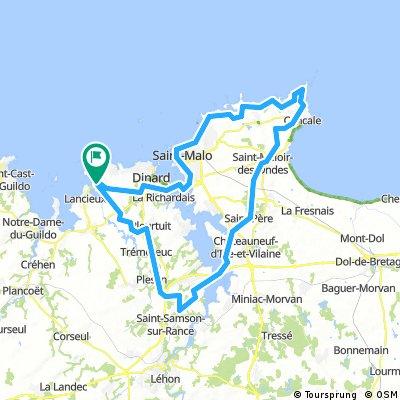 Saint-Briac,Saint-Malo,Cancale - 83 km