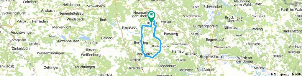 Beilngries - Diefurt Runde