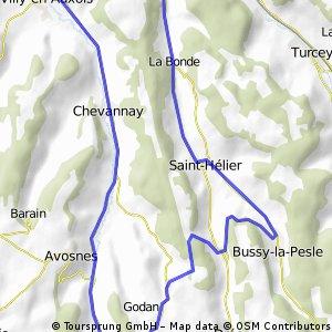 Burgund Ferien kurz