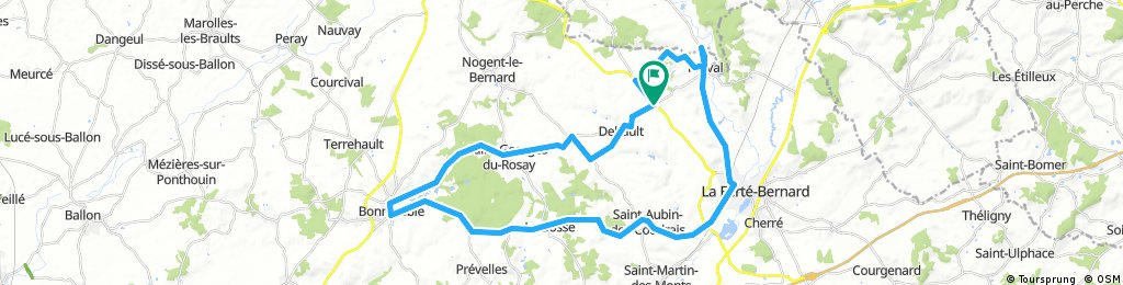 Lengthy ride from 8 août 16:23