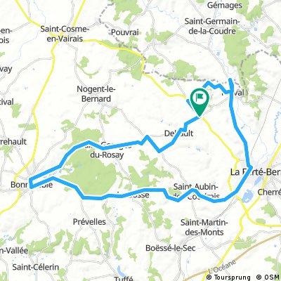Lengthy ride from 8 août 16:23