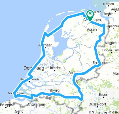 1000 km's Round The Netherlands