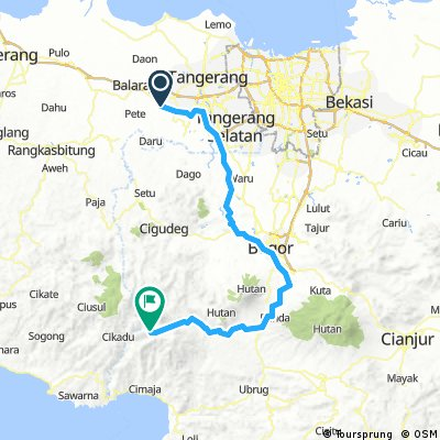 Road To Ciptagelar Via Sukabumi