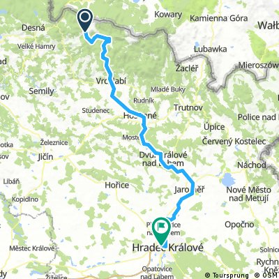 Jizera, Labe 2016 3. Dvoračky-Pardubice-101 km, 390 vms-1310 vmk