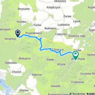 ride from Olsztyn to Janów