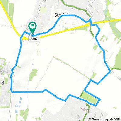 Short bike tour through Hitchin
