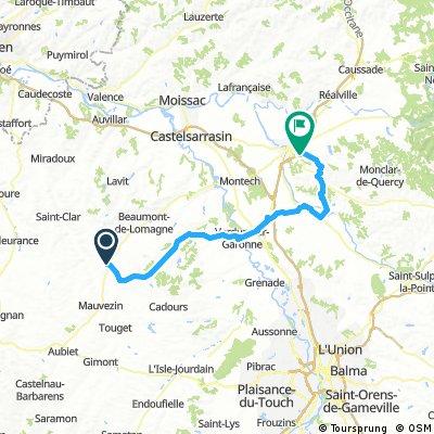 2016 Ride Day 132 - Solomiac to Montauban