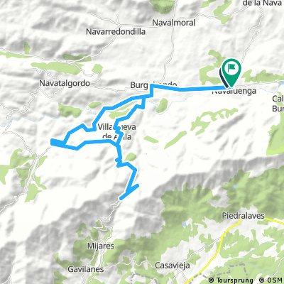 Navaluenga-Mijares-Morisco-Burgohondo-Navaluenga