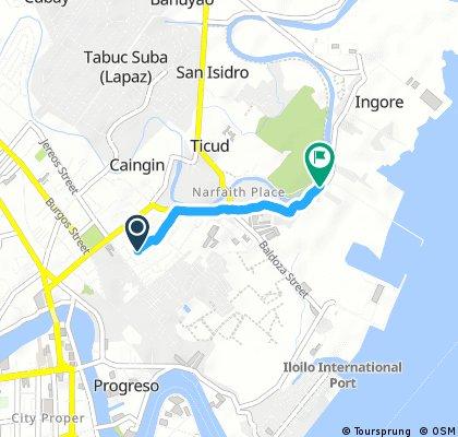 Brief ride through Iloilo City