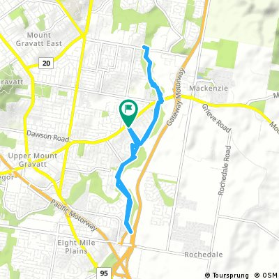 bike tour through Wishart