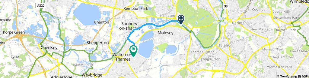 Quick bike tour through Elmbridge