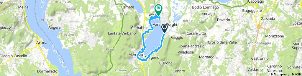 Ternate-Comabbio - Lago di Comabbio