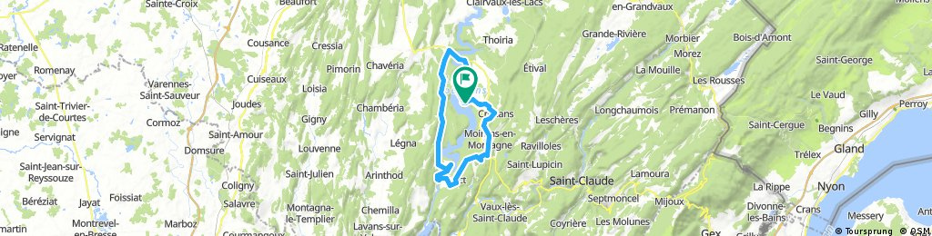 Tours du Lac Vouglans