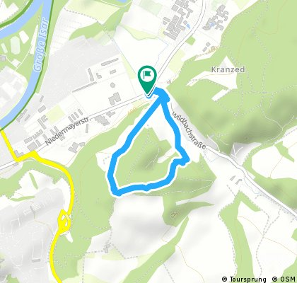 Schnelle Radrunde durch Landshut