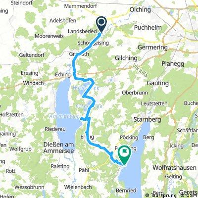 Buchenau to Tutzing