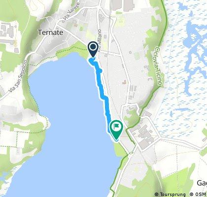 Ternate to Varano - Comabbio Lake