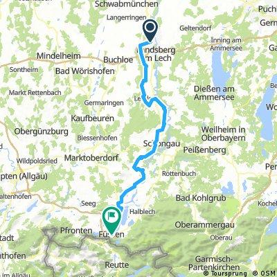 Via Claudia Part 1: Kaufering - Füssen