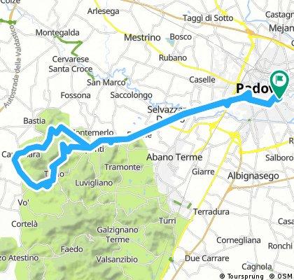 Da Padova a Teolo e ritorno