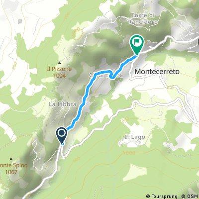 variant Via Monte le Ca