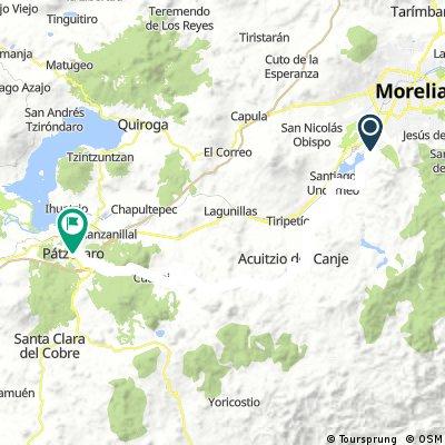 Reto MTB Morelia - Patzcuaro