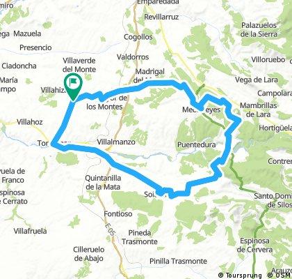 Zael - Mecerreyes - Covarrubias - Lerma - Tordómar - Zael