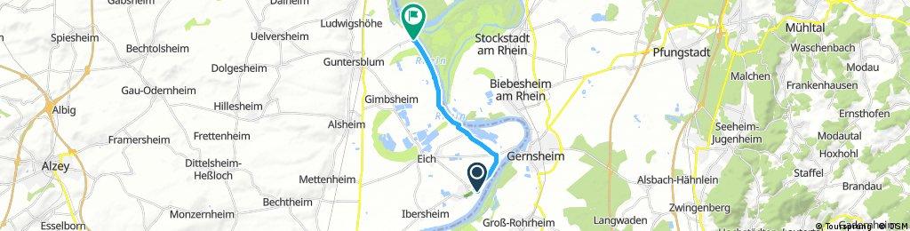 Gashaus zum Rheinufer, Guntersblum