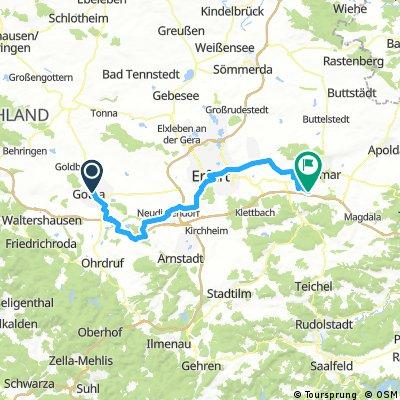 Thuringia 04: Gotha - Weimar