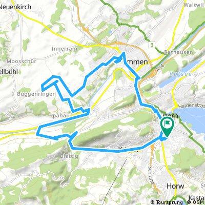 Lange Ausfahrt durch Luzern