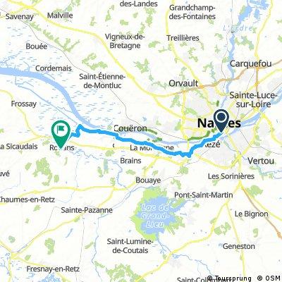 Nantes -> Rouans