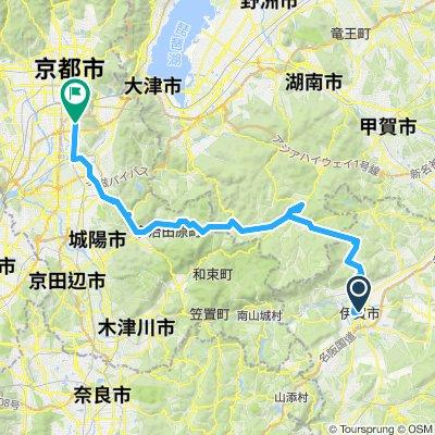 CJ08 伊賀~京都(2016)
