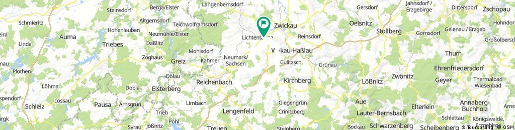Waldkirchen Tourplan