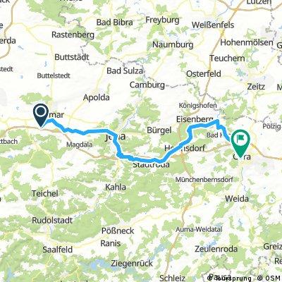 Thuringia 05: Weimar - Jena - Gera