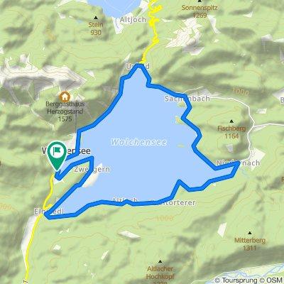 Rundkurs Walchensee