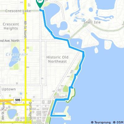 Brief ride through Saint Petersburg