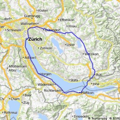 Pfäffikon Rund um Zürichsee