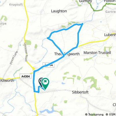 ride through Lutterworth