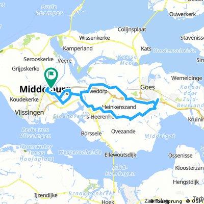 Ride4Kids papflappentocht 60km 17-7-2016